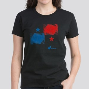 Panama Flag Women's Dark T-Shirt
